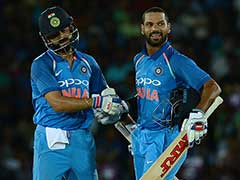 1st ODI: Shikhar Dhawan, Virat Kohli Star In India's Resounding Win Over Sri Lanka