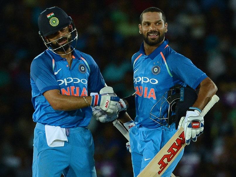 1st ODI: Shikhar Dhawan, Virat Kohli Star In India