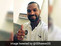 Shikhar Dhawan Thanks Fans After Achieving This Special Milestone On Twitter