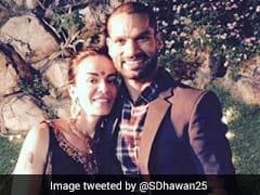 On Wife Aesha's Birthday, Shikhar Dhawan's Emotional Message