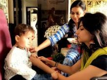 Raksha Bandhan 2017: Shweta Tiwari And Nisha Rawal's Sons Had Their First Rakhi. See Pics