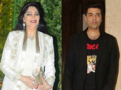 Simi Garewal Thinks Karan Johar Wants Her Job. 'Another Takeover,' She Says