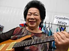 81-Year-Old Guitar-Slinging Granny Gets Ready For Biggest Solo Gig