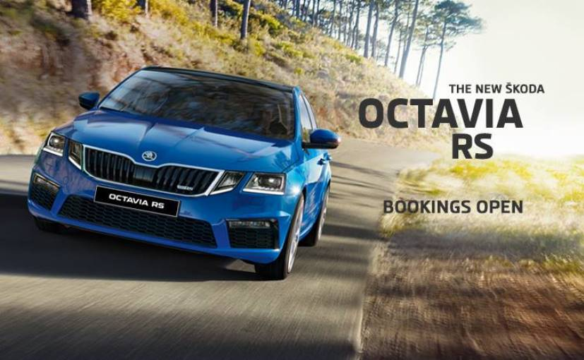 skoda octavia rs bookings