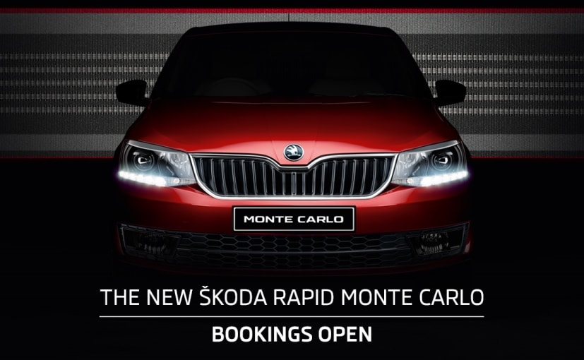 skoda rapid monte carlo bookings