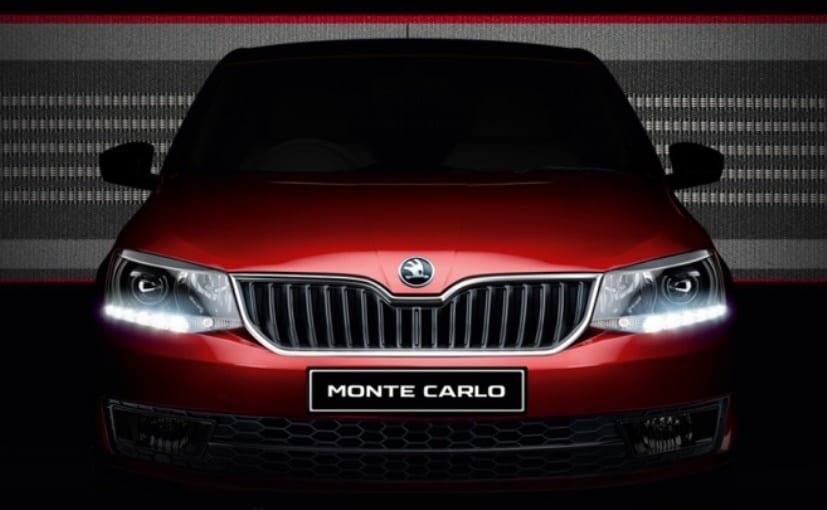 Skoda Rapid Monte Carlo Edition Launched At Rs 10 75 Lakh In India