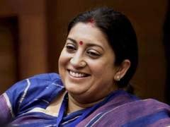 Not Me, Says Smriti Irani On Gujarat Chief Minister Rumours