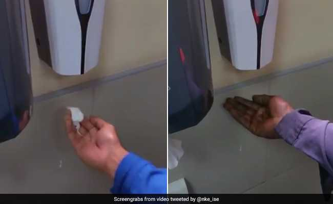 Viral Video Of 'Racist' Soap Dispenser Sparks Debate On Twitter