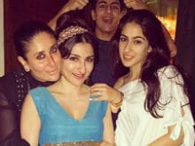 Soha Ali Khan And Her Baby Bump Stole Birthday Boy Saif Ali Khan's Thunder