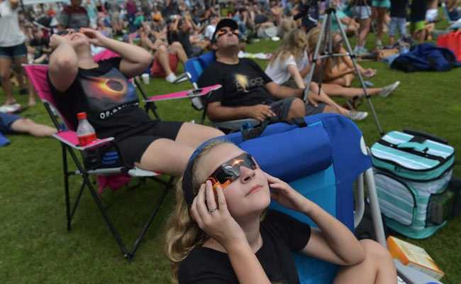 solar eclipse audience afp