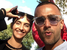 Sonam Kapoor And Anand Ahuja Are Chillin' Like Villains On Vacation. See Pics