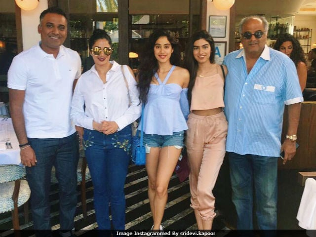 Sridevi's 'Favourite' Person Joined The Kapoors For Lunch In Los Angeles