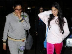 Welcome Home, Sridevi And Jhanvi. Los Angeles Holiday Is Over