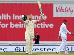 2nd Test: Ton-up Ben Stokes Rides His Luck Against West Indies