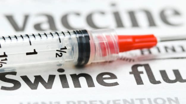 12 cases of Swine Flu reported in single day