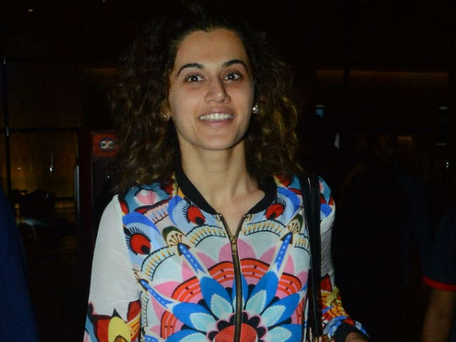 Taapsee Pannu Says 'Intense Roles' Are As Difficult As 'Dancing Around Trees'