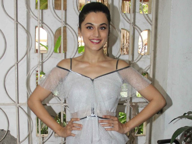 Taapsee Pannu Wants Us To Know That The Pay Gap Is The Fault Of Actresses