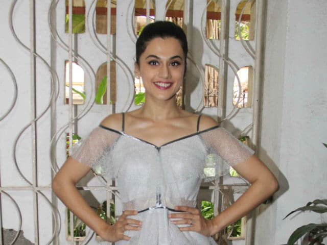 Taapsee: Being A Female Actor With An Opinion Is Tough