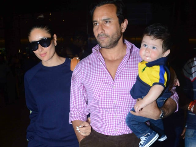 Baby Taimur Returns From Swiss Vacation With Mom Kareena Kapoor And Dad Saif Ali Khan