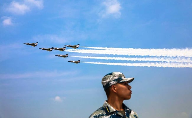 As China Air Force Drills Near Taiwan, S Korea Jets Scramble