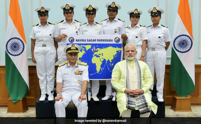 All-Women Indian Navy Crew To Sail Around The World