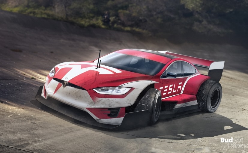 tesla model s f1 car