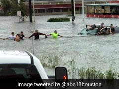 Watch: A Human Chain To Save Man Trapped In SUV