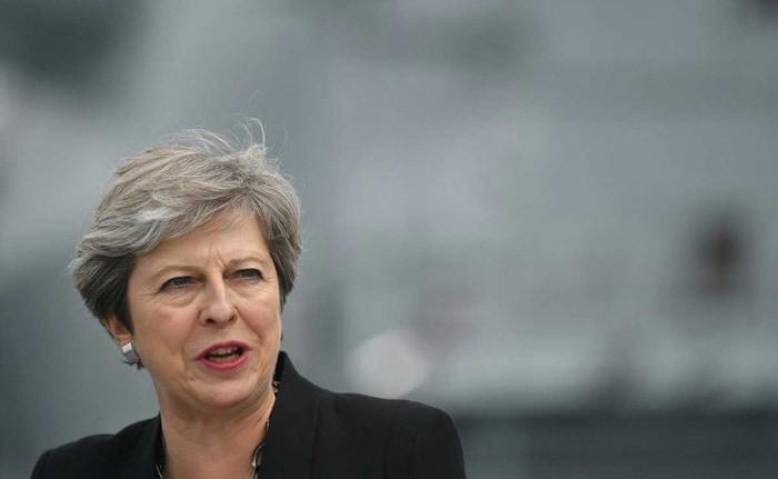 In Rare Rebuke Of Trump, UK's Theresa May Says Condemn Far-Right Views