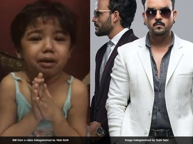 Singer Toshi Sabri Defends Viral Video of Crying Girl. She's His Niece