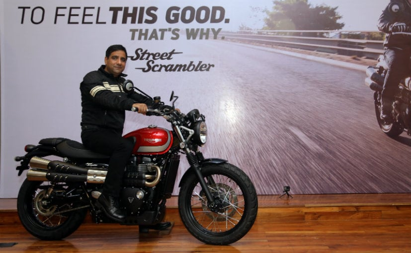 Triumph Street Scrambler Launched In India; Prices And Details Here