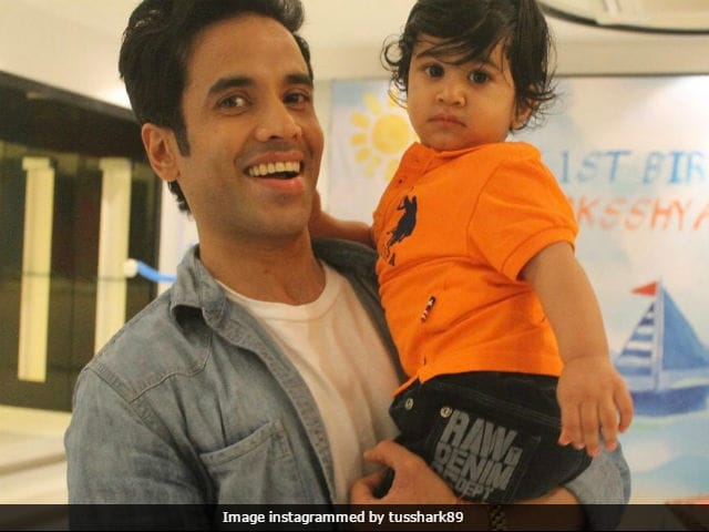 How Tusshar Kapoor's Son Laksshya Deals With Dad Leaving For Work