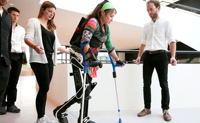 This Swiss Robotic Device Can Help People With Disabilities Walk Again