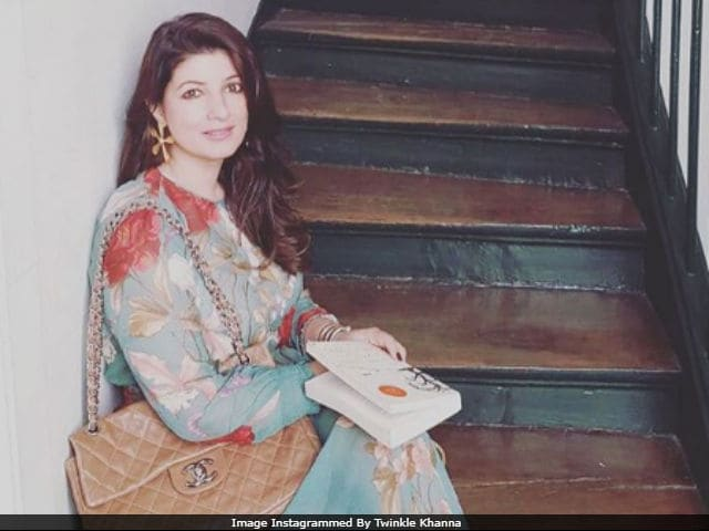 Trolled For Mocking 'Dignity Of Men,' Twinkle Khanna Posts Same Pic Again