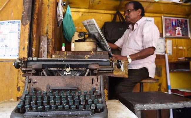 End Of An Era As Typewriting Tests Phased Out In India