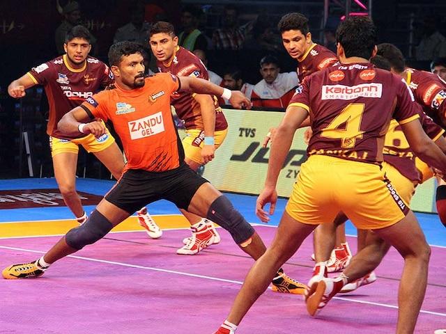 Pro Kabaddi League: U Mumba Beat UP Yoddha, Jaipur Pink Panthers Edge Out Bengaluru Bulls