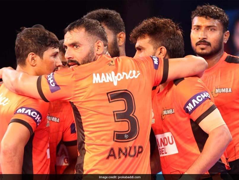 Pro Kabaddi League: U Mumba Beat Dabang Delhi 36-22