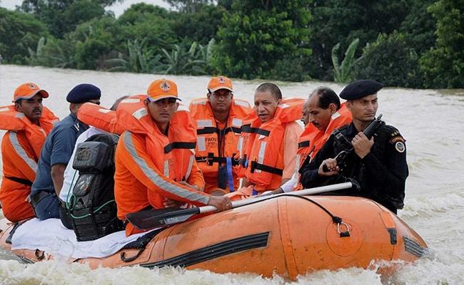 उत्तर प्रदेश में बाढ़ से 4 लाख 90 हजार परिवार हुए प्रभावित