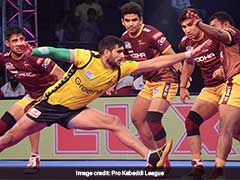 Pro Kabaddi League: UP Yoddha Beat Telugu Titans 25-23