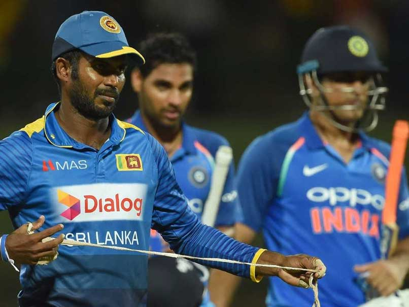 India vs Sri Lanka: Two-Match Ban On Upul Tharanga For Slow Over-Rate, Chamara Kapugedara To Lead Hosts