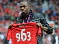 Usain Bolt Set To Make Manchester United Debut Against Barcelona