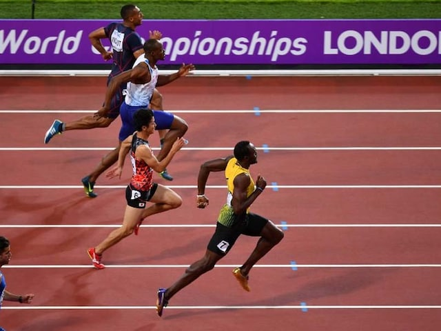 World Athletics Championships: Usain Bolt Made To Work, Justin Gatlin Jeered