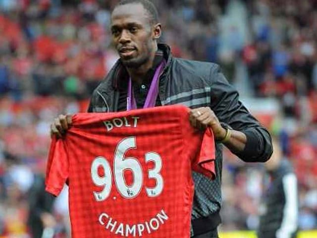 How Manchester United Helped Ease Usain Bolts Pain After A Rough Week