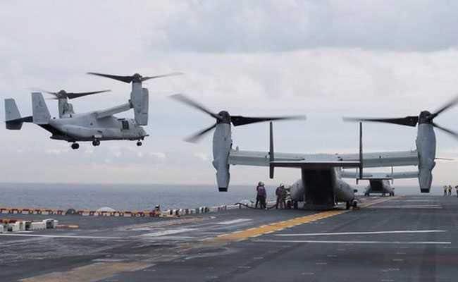 Australia Sends Navy Ships, Divers After Aircraft Crash, 3 US Marines Missing