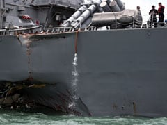 After US Destroyer Collision, Chinese Paper Says US Navy A Hazard