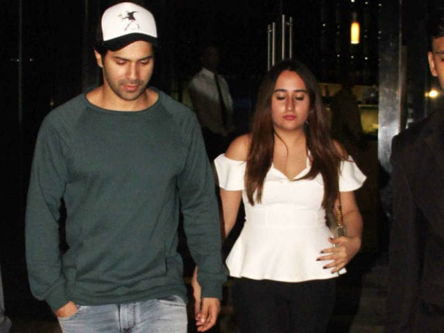 Varun Dhawan Spotted On A Dinner Date With Rumoured Girlfriend Natasha Dalal