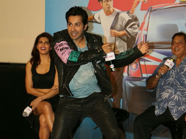 Judwaa 2: Varun Dhawan Charms His Fans At Trailer Launch. Just Like Salman Khan