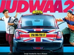 <i>Judwaa 2</i> Poster: Varun Dhawan Promises 'Double Fun.' Are You Ready?
