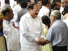 M Venkaiah Naidu Is India's Next Vice President: 10 Points