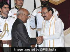 Venkaiah Naidu Swears In As New Vice-President Of India