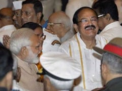 PM Narendra Modi Welcomes 'Farmer's Son' Venkaiah Naidu to High Post, Congress Defensive